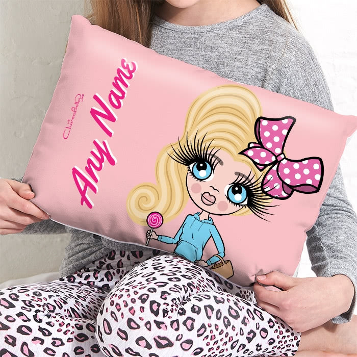 ClaireaBella Girls Placement Cushion - Close Up - Image 2