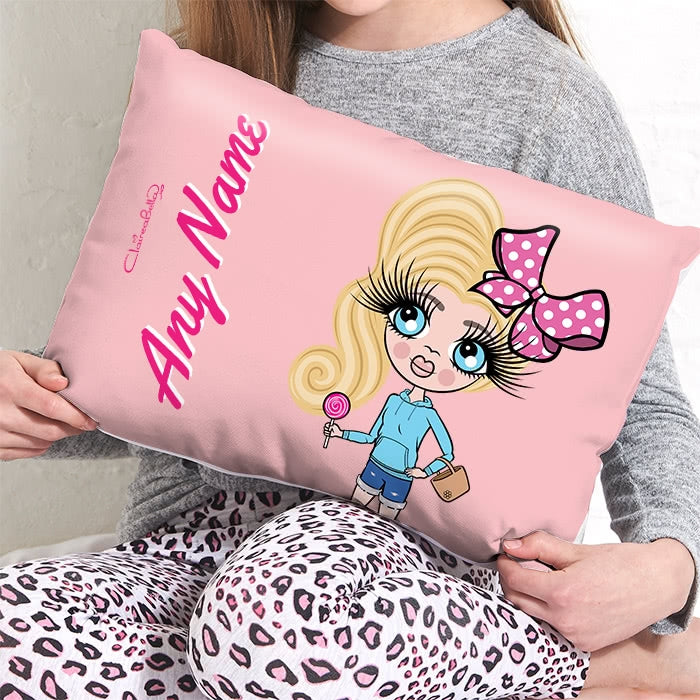 ClaireaBella Girls Placement Cushion - Dusty Pink - Image 3