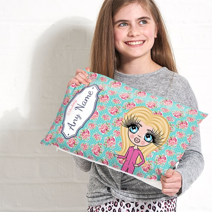 ClaireaBella Girls Placement Cushion - Rose - Image 2