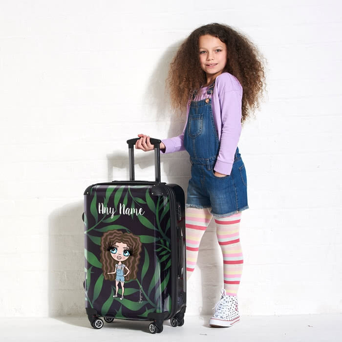 ClaireaBella Girls Tropical Suitcase - Image 4