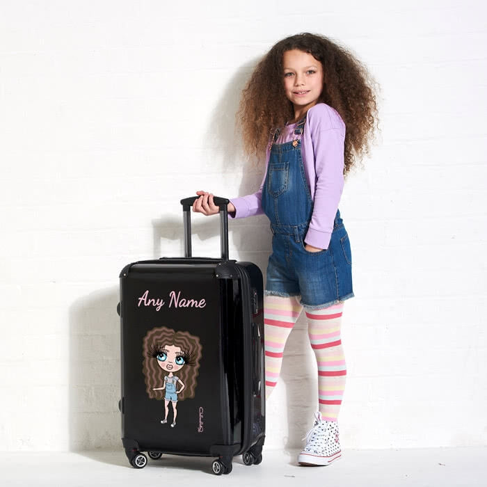 ClaireaBella Girls Black Suitcase - Image 3