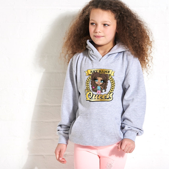 ClaireaBella Girls Queen Hoodie - Image 2