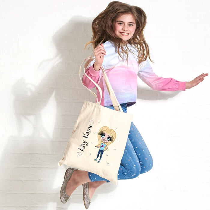 ClaireaBella Girls Canvas Bag - Image 4