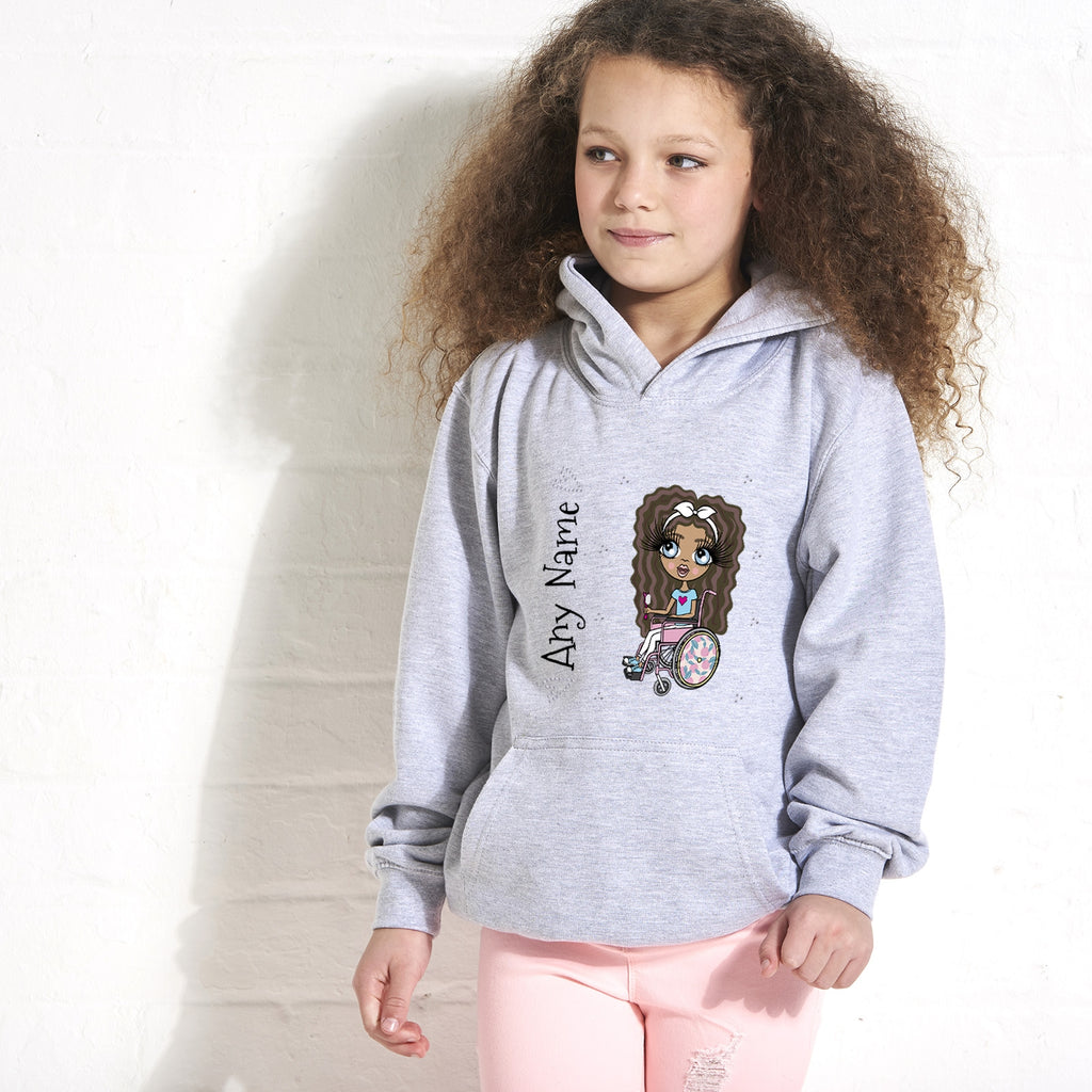 ClaireaBella Girls Wheelchair Hoodie - Image 1