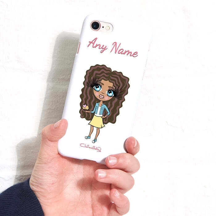 ClaireaBella Girls Personalised White Phone Case - Image 5