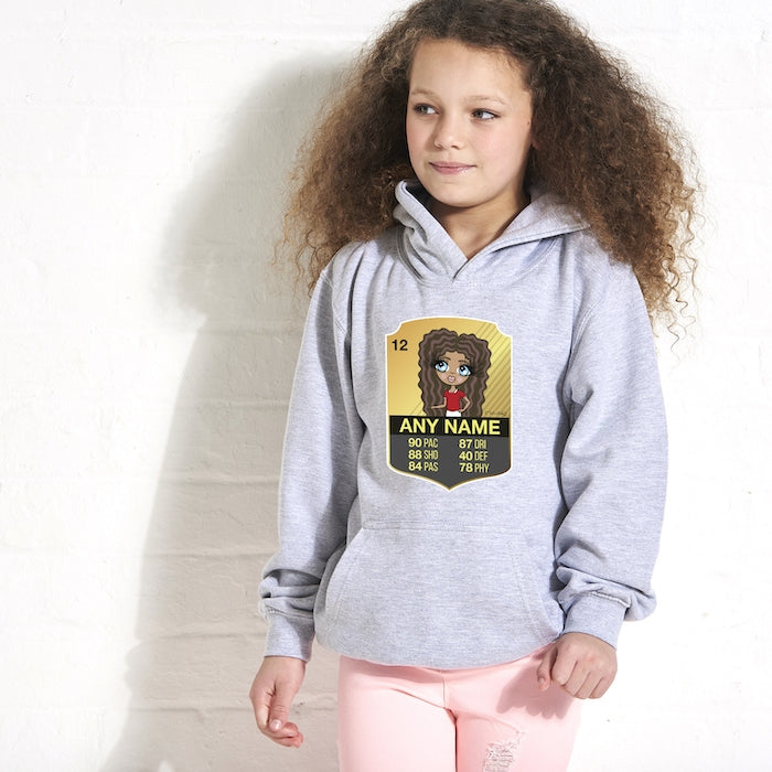 ClaireaBella Girls Football Hoodie - Image 2