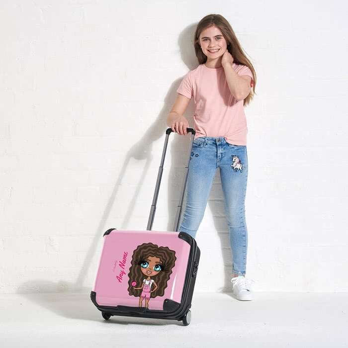 ClaireaBella Girls Close Up Weekend Suitcase - Image 5