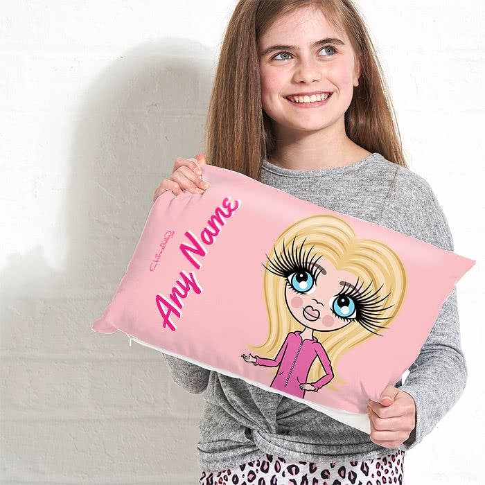 ClaireaBella Girls Placement Cushion - Close Up - Image 1