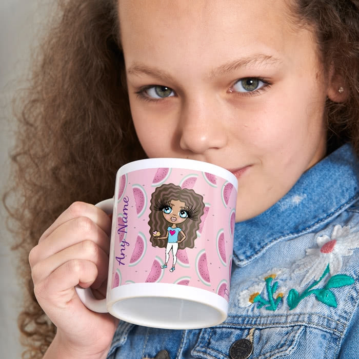 ClaireaBella Girls Watermelon Mug - Image 1