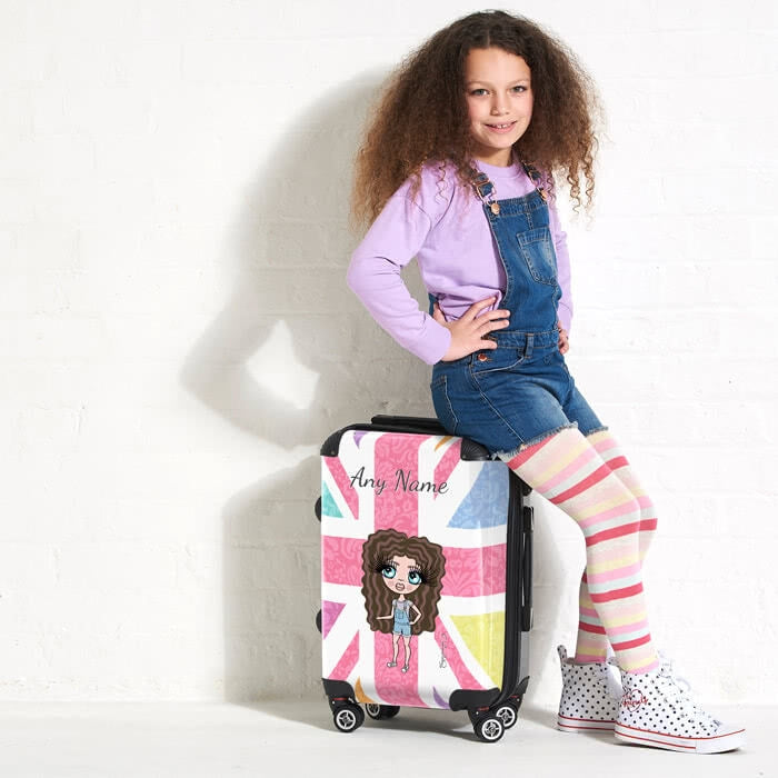 ClaireaBella Girls Union Jack Suitcase - Image 6
