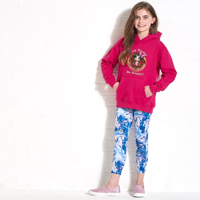 ClaireaBella Girls Donut Hoodie - Image 2