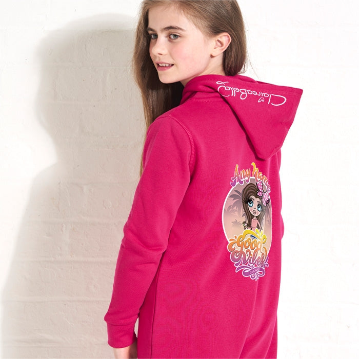 ClaireaBella Girls Good Vibes Onesie - Image 1