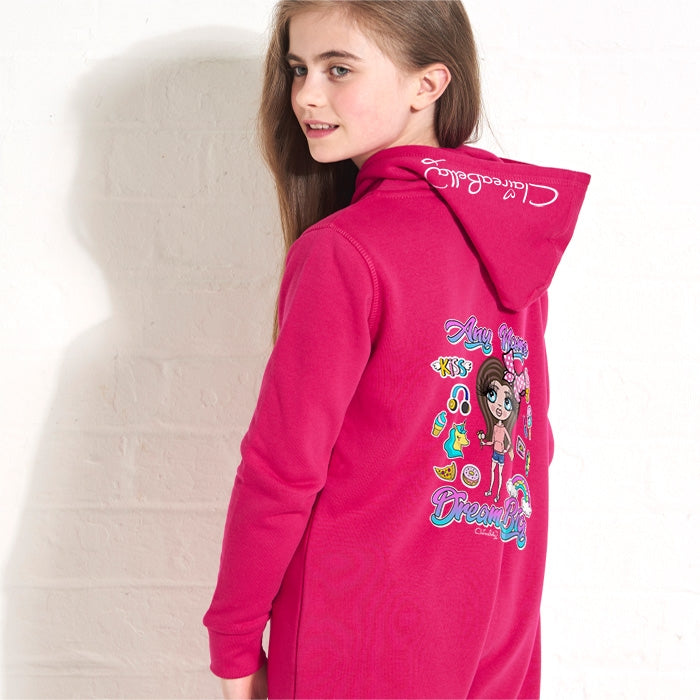 ClaireaBella Girls Dream Big Onesie - Image 3