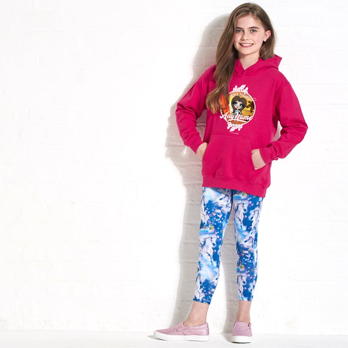 ClaireaBella Girls Surf Hoodie - Image 1