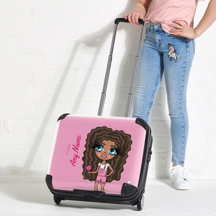 ClaireaBella Girls Close Up Weekend Suitcase - Image 4