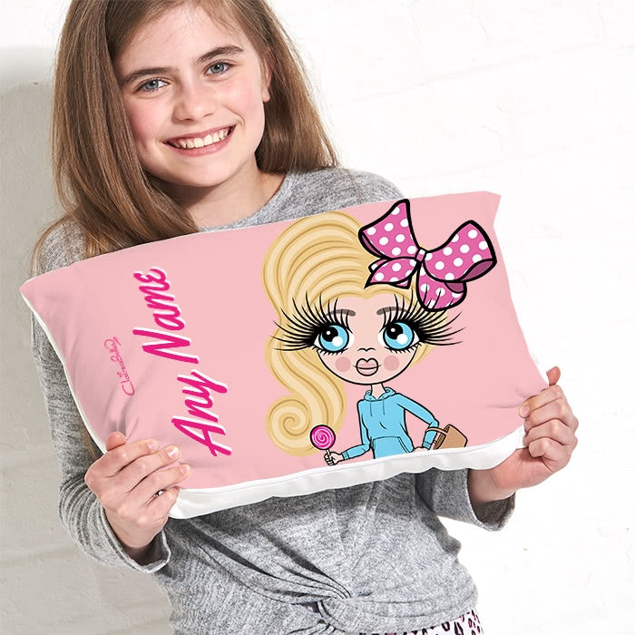 ClaireaBella Girls Placement Cushion - Close Up - Image 3