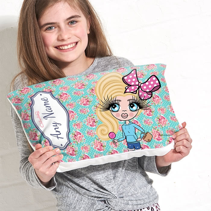 ClaireaBella Girls Placement Cushion - Rose - Image 1