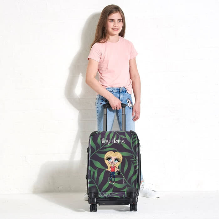 ClaireaBella Girls Tropical Suitcase - Image 6