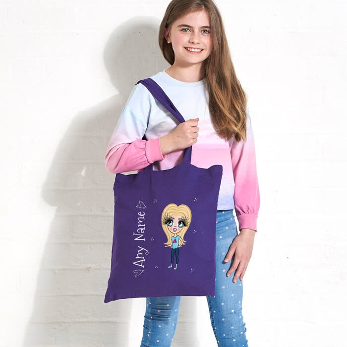 ClaireaBella Girls Colour Pop Canvas Bag - Image 2