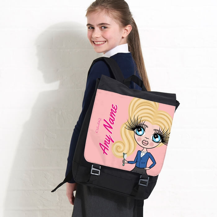 ClaireaBella Girls Close Up Large Backpack - Image 4