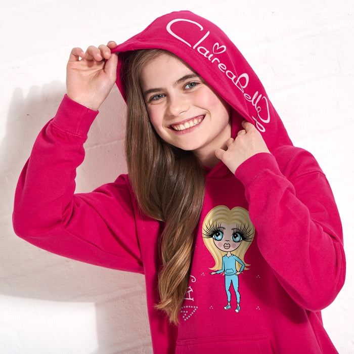 ClaireaBella Girls Hoodie - Image 3