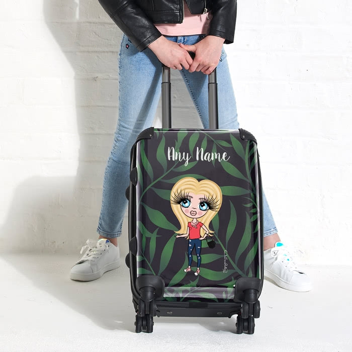 ClaireaBella Girls Tropical Suitcase - Image 5