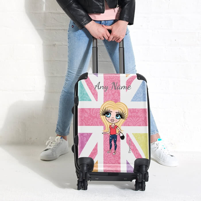ClaireaBella Girls Union Jack Suitcase - Image 3