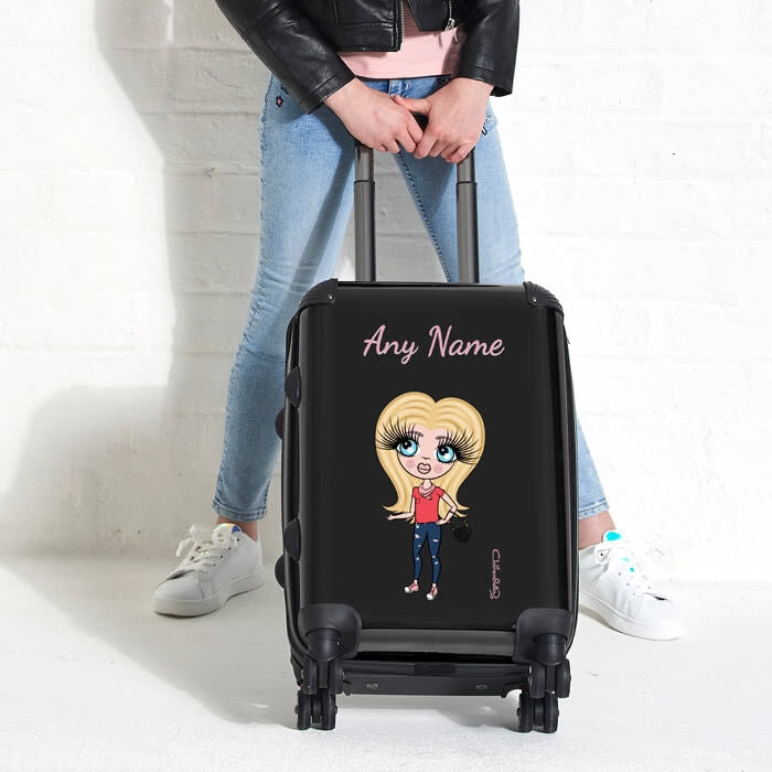 ClaireaBella Girls Black Suitcase - Image 2