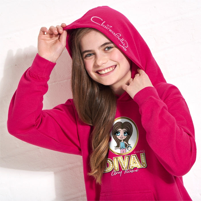 ClaireaBella Girls Diva Hoodie - Image 5