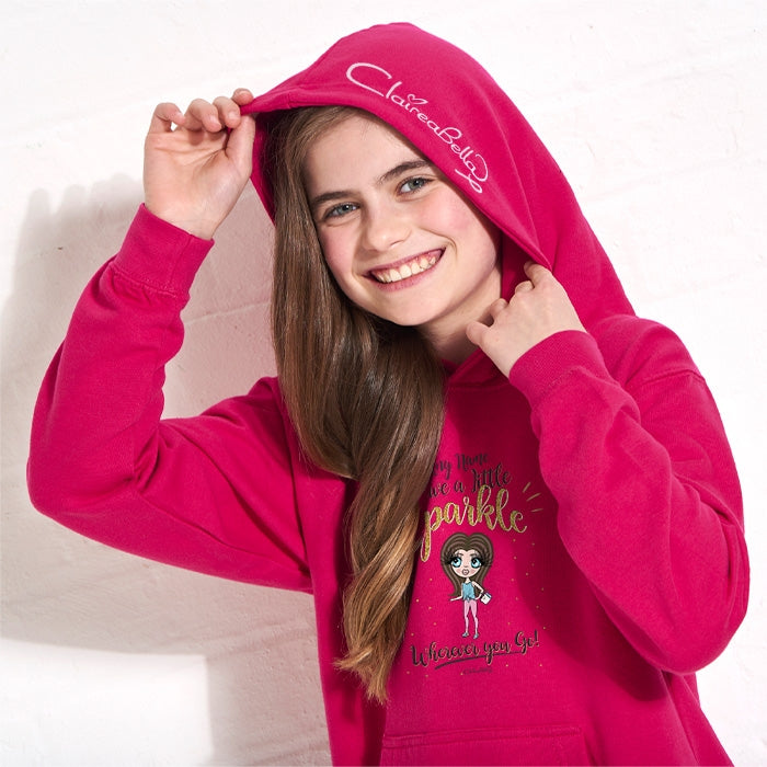 ClaireaBella Girls A Little Sparkle Hoodie - Image 5