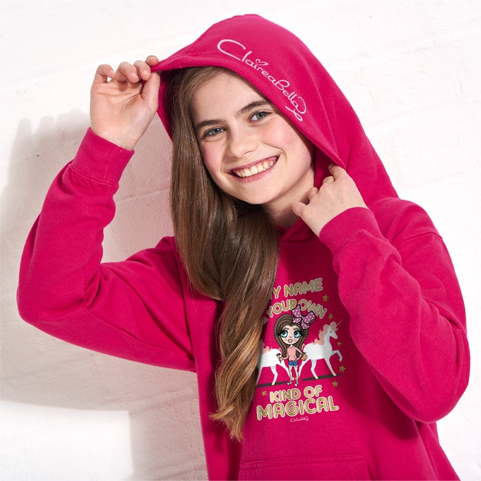 ClaireaBella Girls Magic Hoodie - Image 4