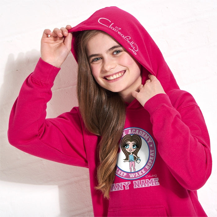 ClaireaBella Girls Snooze Academy Hoodie - Image 2