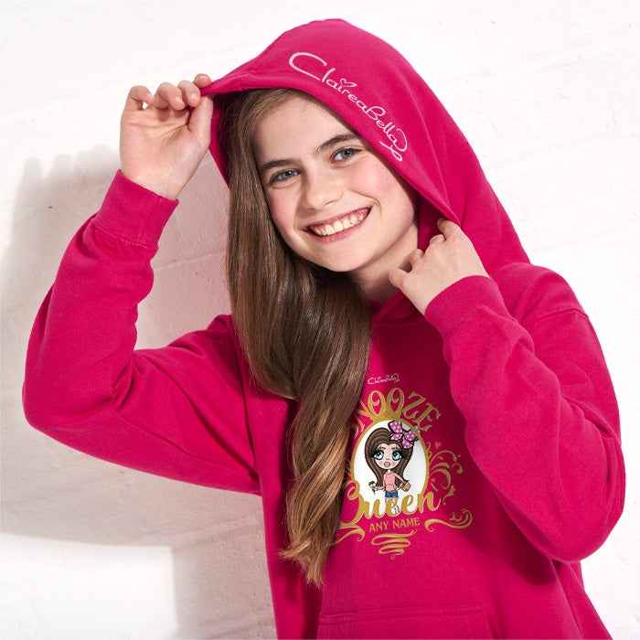 ClaireaBella Girls Snooze Queen Hoodie - Image 2