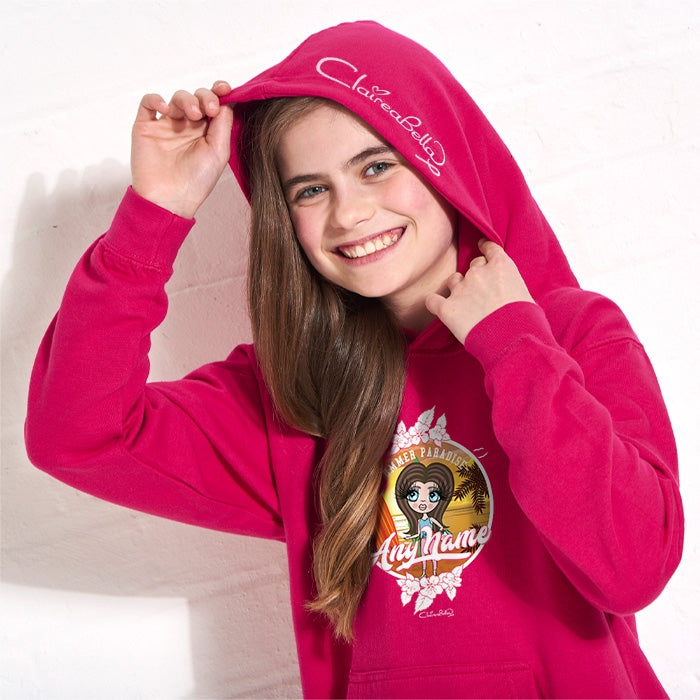 ClaireaBella Girls Surf Hoodie - Image 2