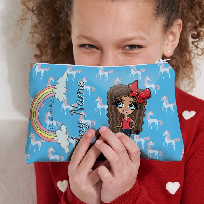 ClaireaBella Girls Unicorn Make Up Bag - Image 7