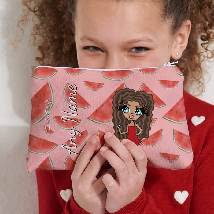 ClaireaBella Girls Watermelon Make Up Bag - Image 5