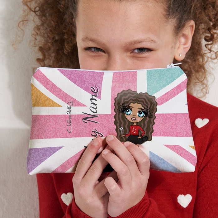 ClaireaBella Girls Union Jack Make Up Bag - Image 6