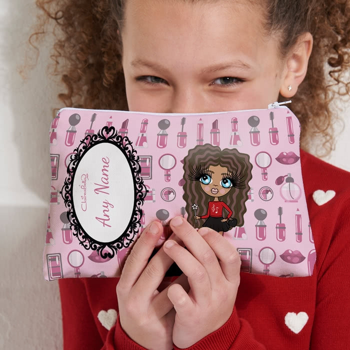 ClaireaBella Girls Beauty Print Make Up Bag - Image 2