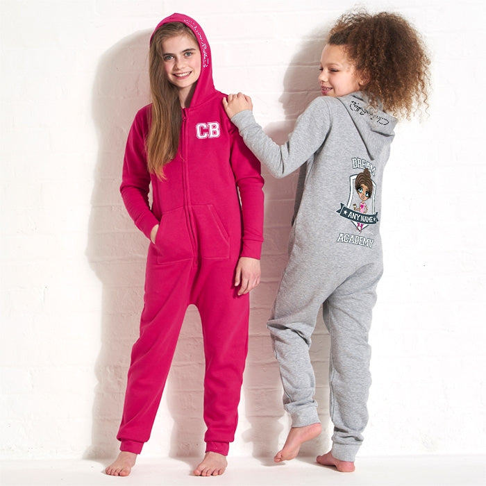 ClaireaBella Girls Dream Academy Onesie - Image 5