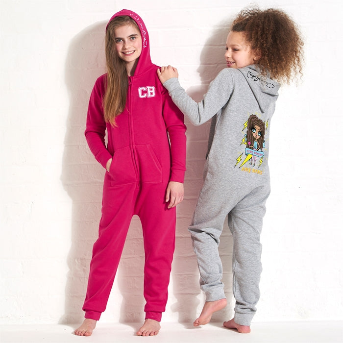 ClaireaBella Girls Girl Power Onesie - Image 3