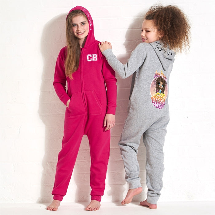ClaireaBella Girls Good Vibes Onesie - Image 5