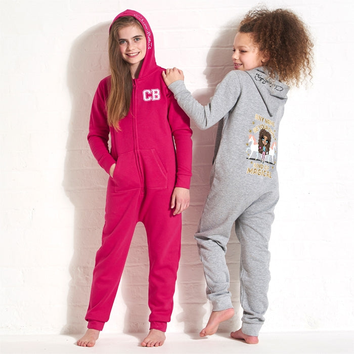 ClaireaBella Girls Magic Onesie - Image 3