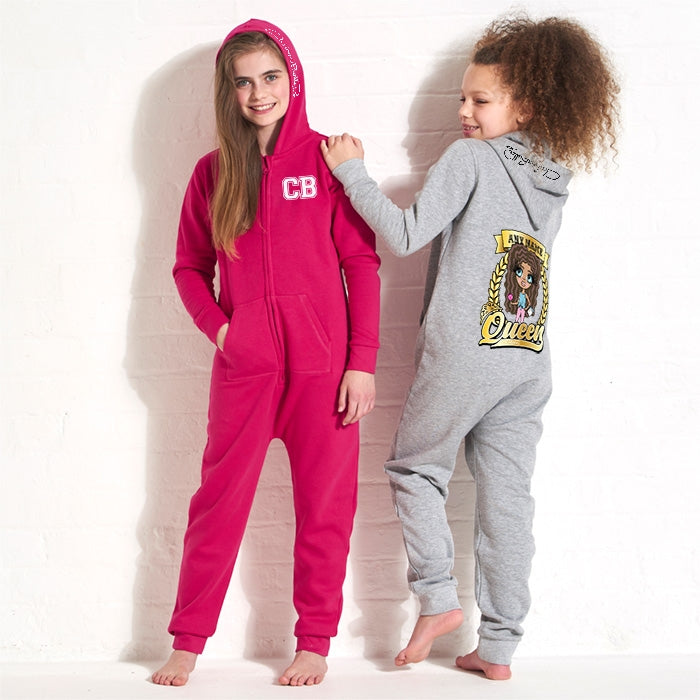 ClaireaBella Girls Queen Onesie - Image 5