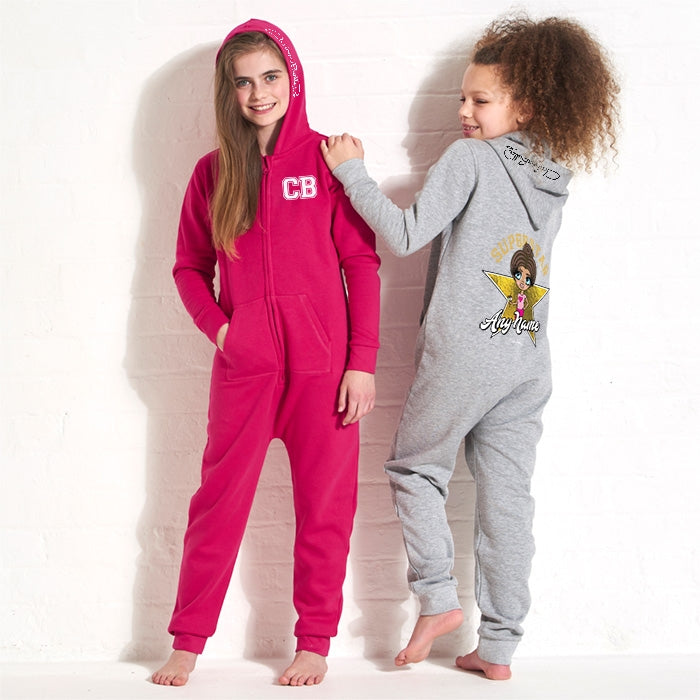 ClaireaBella Girls Superstar Onesie - Image 4
