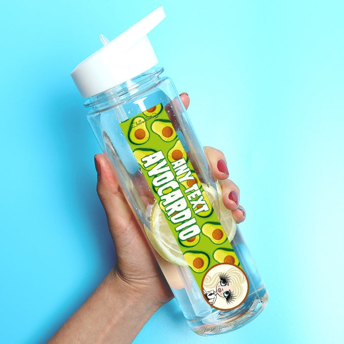 ClaireaBella Girls Avo Water Bottle - Image 1