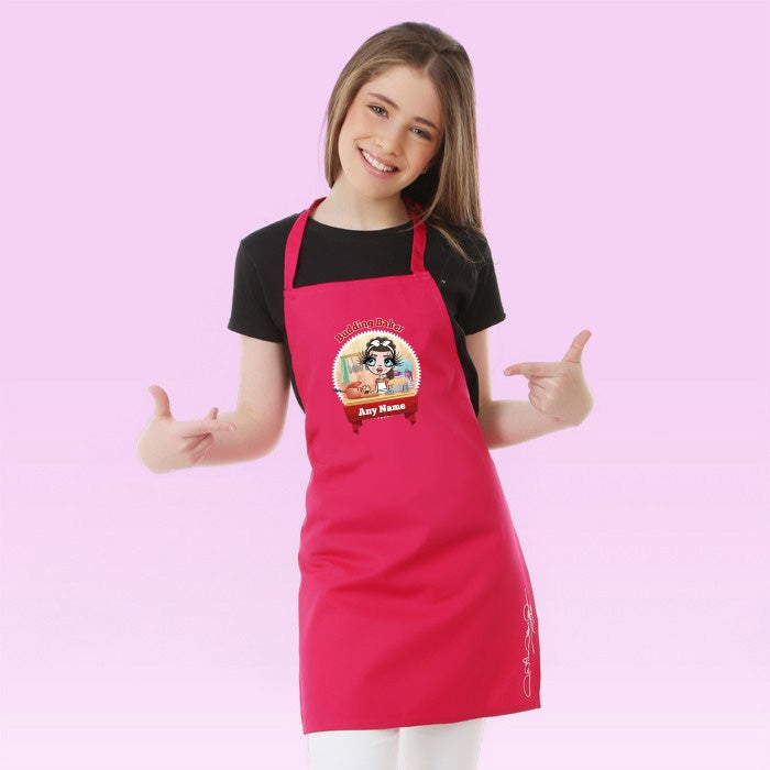 ClaireaBella Girls Budding Baker Apron - Image 1