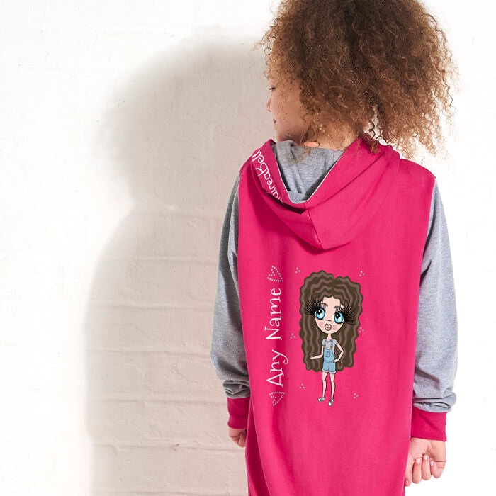 ClaireaBella Girls Contrast Onesie - Image 3