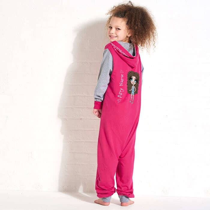 ClaireaBella Girls Contrast Onesie - Image 1