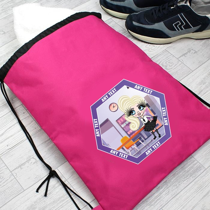 ClaireaBella Girls Canteen Drawstring Bag - Image 4