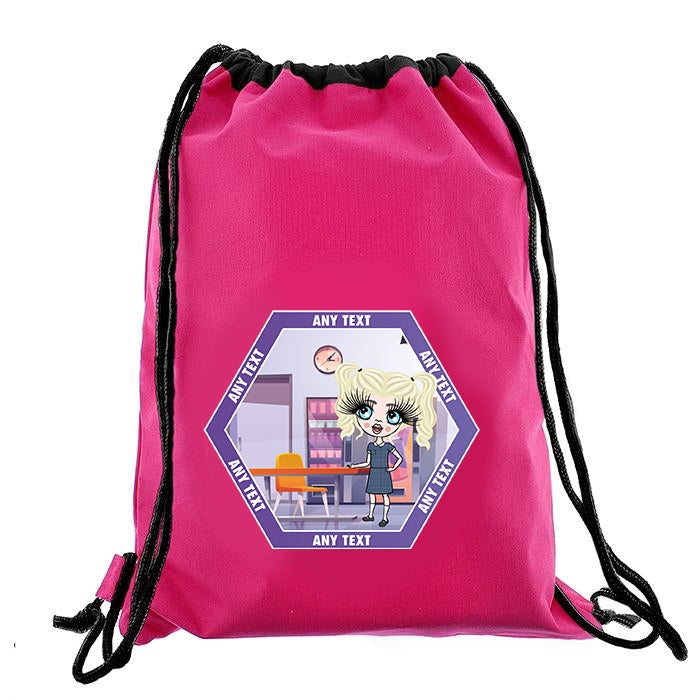 ClaireaBella Girls Canteen Drawstring Bag - Image 6